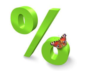 3D - Prozent - Rabatt - Sale