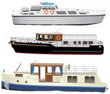 Motor boats poster