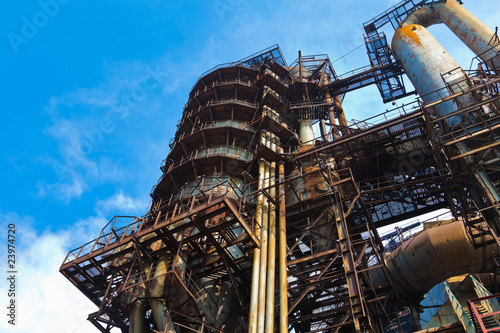 Metallurgical works equipment