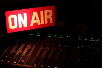 On Air Radio Studio Horizontal