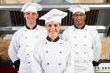 team of chefs in kitchen
