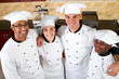 team of friendly chefs