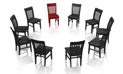 Psychotherapie - Die Selbsthilfegruppe rot schwarz