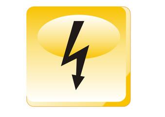 Warnung - Elektrische Spannung