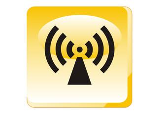 Warnung - Elektromagnetischer Strahlung