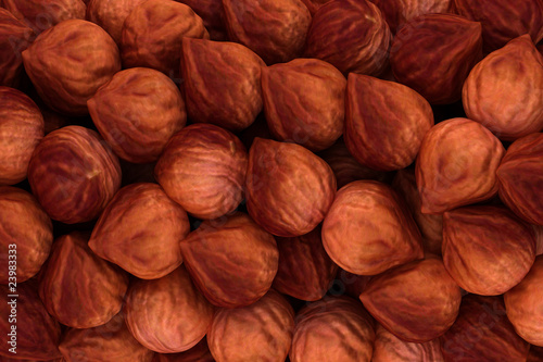 Hazel nuts texture or background