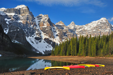 Moraine Lake Shore