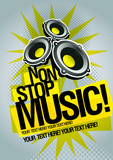 Fototapety Music poster template