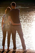 Outdoor Couple Silhouette