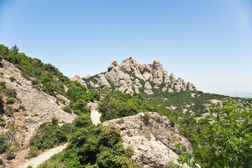 Montserrat mountain, Catalonia, Spain
