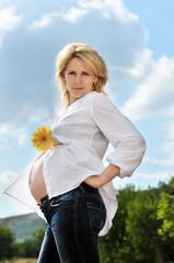 beauty pregnance