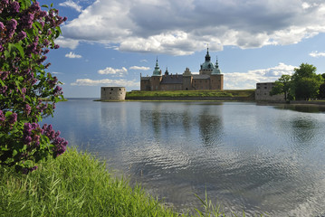 Park view for Kalmar castle
