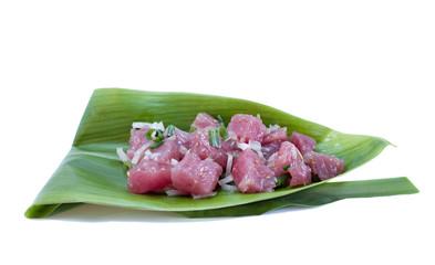Tuna Sashimi Salad - Ahi Poke