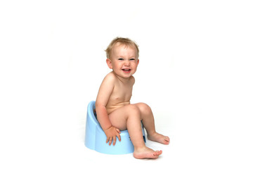 Baby and potty