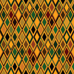 Ethnic yellow texture