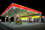 Fototapety Tankstelle
