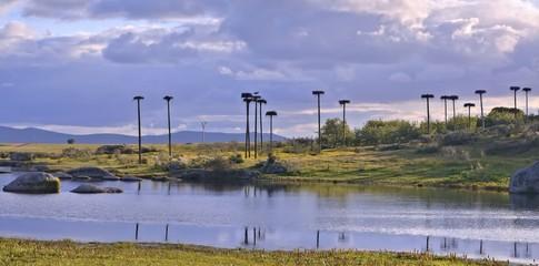 Lagunas de Los Barruecos,Caceres,Extremadura,España