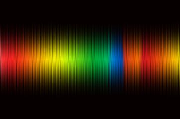 クリスマスの虹のイメージ