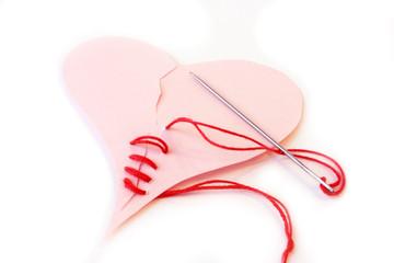 Зашитое сердце