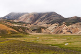 The colorful mountains of Landmannalaugar poster