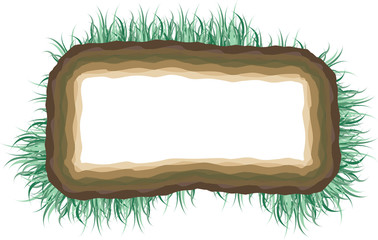 Grass cross section - frame
