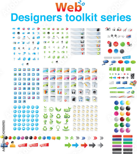 Designers toolkit series - huge collection of web graphics