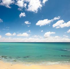 summertime beach