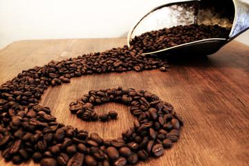El espiral del cafe