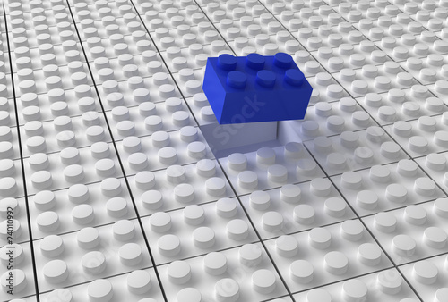 Lego background bw