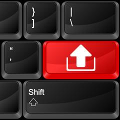 computer button upload