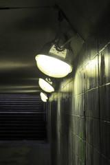Lamps in underground