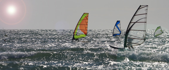 Strong winds at Rhosneiger