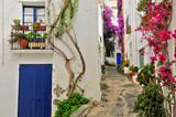 A street of Cadaques, Spain