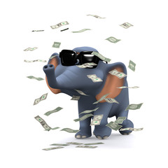 3d Elephant  is in the money