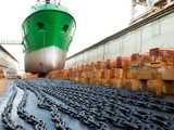 Ship and dock