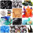 riciclo rifiuti collage
