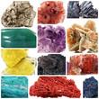 minerali collage