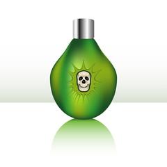 Green Bottle of Poison