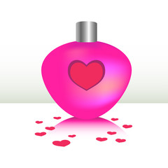 Pink Bottle of Love Potion