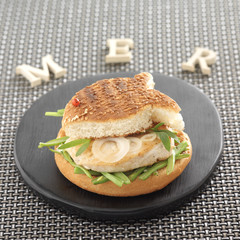 grilled swordfish burger