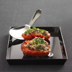 provençal-style tomatoes stuffed with anchoyade