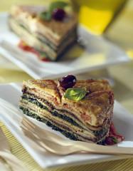omelette cake
