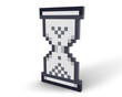 Hourglass icon standing