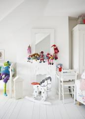 Tranquil child?s bedroom