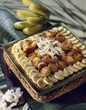 banana and coconut tart
