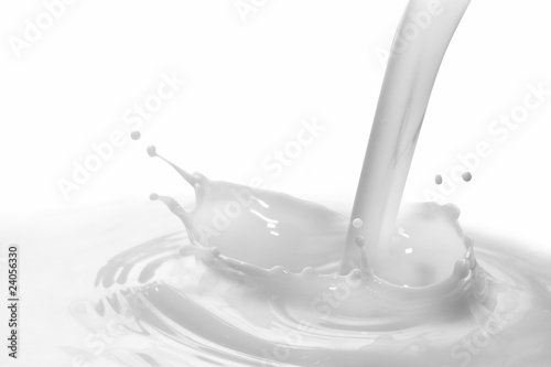 Leinwandbild Motiv milk