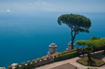 Mediterranean sea from Villa Ruffolo