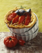 onion and tomato tartlet