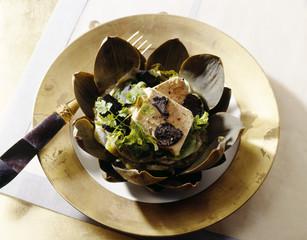 artichoke heart gourmand salad