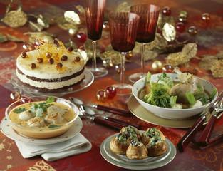 christman menu